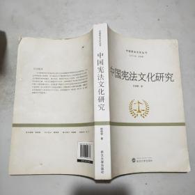 中国宪法文化研究(16开)