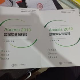 Access 2010数据库基础教程 和实训教程 两本合售 彭静 上海交通大学出版社
