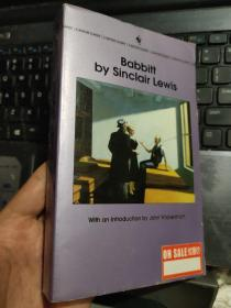 Sinclair Lewis:Babbitt 英文原版
