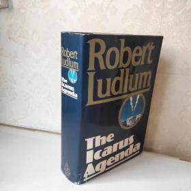 Robert Ludlum   The Icarus Agenda 英文原版 精装