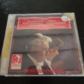 光盘 舒曼格裹格钢琴协奏曲