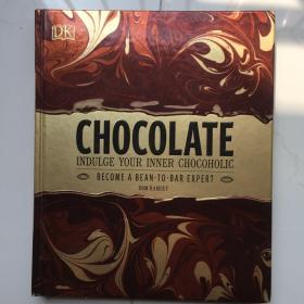 英文原版 Chocolate: Indulge your inner chocoholic  Dom Ramsey 让你身心满足的巧克力 巧克力百科书  精装烫金