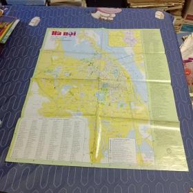 河内原版越语地图