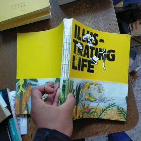ILLUS-TRATING LIFE  实物拍图 现货 无勾画