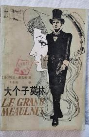 大个子莫林 82年1版1印 包邮挂刷