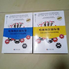 哈林顿在锦标赛 无限注德州扑克高级策略 全两卷