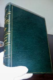 《莎士比亚精选集》私人定制豪华全皮插图本,亚瑟·拉克汉,1909.《Tales from Shakespeare》, Fine Binding, by Charles Lamb, illustrated by Arthur Rackham, First edition, London, 1909