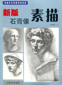 素描--新版石膏像素描❤ 陈华新著 上海大学出版社有限公司9787811186406✔正版全新图书籍Book❤