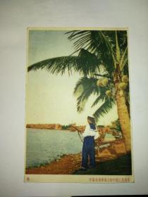 军邮明信片:守卫在海南岛上的中国人民海军