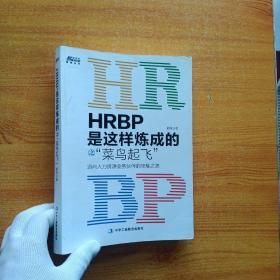 HRBP是这样炼成的之菜鸟起飞【内页干净】