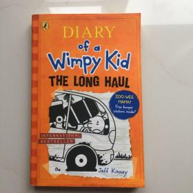 小屁孩日记第九册 英文原版 Diary of a Wimpy Kid: The Lon