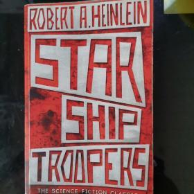 Starship Troopers —Robert A.Heinlein 星船伞兵 罗伯特•海因莱因 英文原版 科幻小说