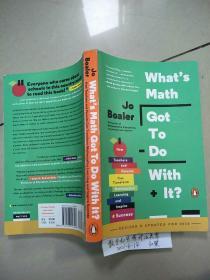 What's Math Got to Do with It? (数学和它有什么关系?)原版  没勾画