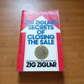Zig Ziglar\'s Secrets of Closing the Sale [平装]金克拉\ ' s关闭销售的秘密