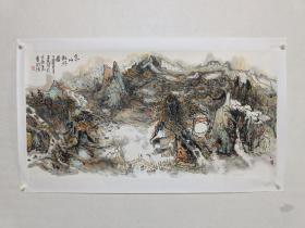 中国美术家协会会员 李玉民作品《家山卧游圖》