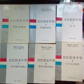 追忆逝水年华(1---7册)少第6册共6册