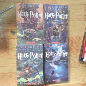 Harry Potter and the 1.2.3.4.6.7卷。6本合售。