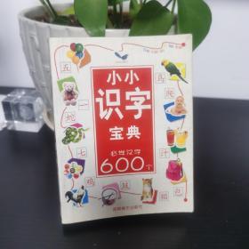 小小识字宝典 必学汉字600个