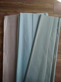 【保真】  80年代色宣纸 4尺整  3张  自然旧有褪色