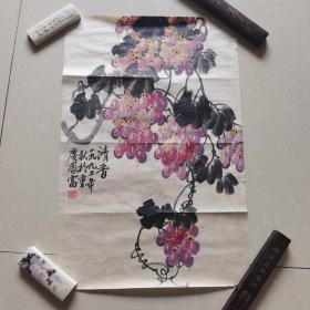 彩葡萄(方凤富作)