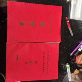汶上县供销合作社联合社1987年任命书丶责任书一套