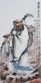 画家《张松平》达摩!
