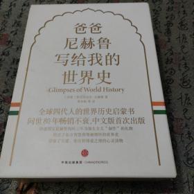 爸爸尼赫鲁写给我的世界史全三册