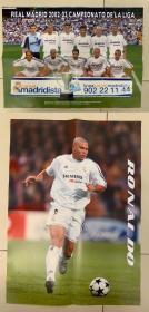 足球海报 2004皇家马德里/罗纳尔多