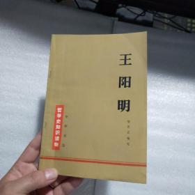 王阳明  哲学史知识读物