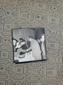 毛主席1958年4月6号接见武汉科技界工作者相片(少见)