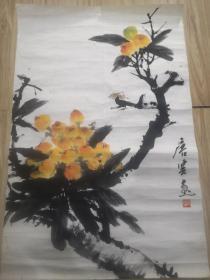上海著名画家唐雲花鸟作品!