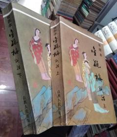 绘图本金瓶梅词话(上下册)
