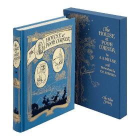 预售小熊维尼噗噗角的房子folio插画版豪华版The House at Pooh Corner folio deluxe