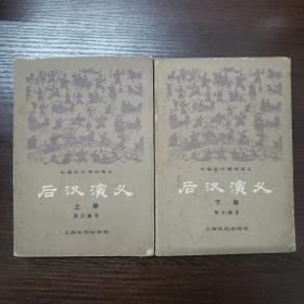 中国历代通俗演义:后汉演义(上下册)