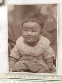 民国时期儿童原版老照片