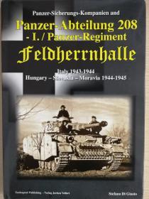 Panzer-Abteilung 208: Italy 1943-1944 Hungary-Slovakia-Moravia 1944-1945
