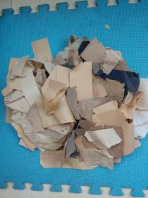 清代,民国老纸,纸片一堆,对于修复古籍大有用场。详情见图以及描述。