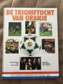 原版足球画册 1988欧洲杯特刊 荷兰出版