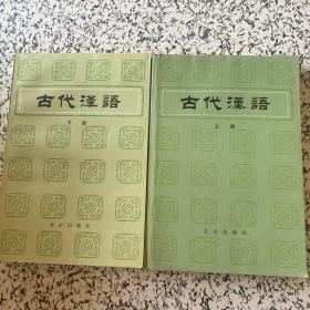 古代汉语 上下册