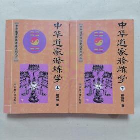 中华道家修炼学 上下两册全 注:上册中有部分阅读划痕,介意慎拍