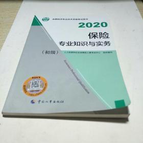经济师初级2020 保险专业知识与实务(初级)2020 中国人事出版社