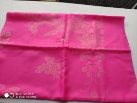 老丝绸老织锦缎布料。