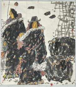 陈 斌 (1957—)四川成都人。擅长中国画、版画。1985年毕业于四川 教育学院美术系,进修于西安美术学院、中国艺术研究院。现为四川川化集团公司文联美术 干事。作品《草地风·春》入选全国第十一届版画展;《风祭》等入选第十二次新人新作展 ;《彩云飘飘》入选世界华人书画展;《春歌》、《远处云飘飘》入选第九届全国美展;《 转经的藏女》入选中国画三百家展。出版《陈斌工笔画集》