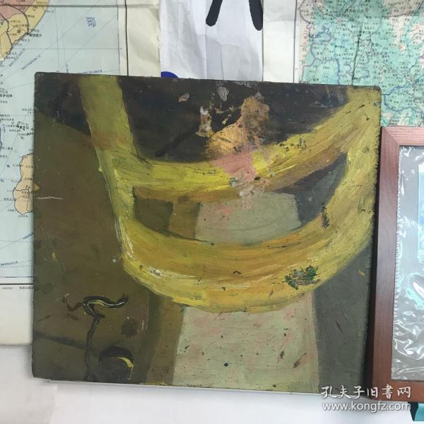 面具 油画 29x26cm