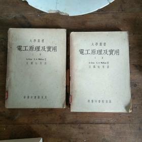 大学丛书:电工原理及实用(上下册)