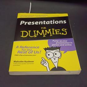 Presentations For Dummies 9780764559556