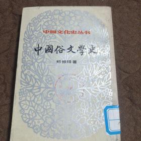中国俗文学史(下册)
