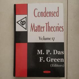 condenaed matter theories (凝聚物质理论)英文原版