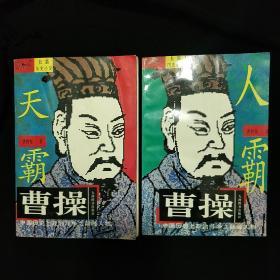 《曹操》上册 天霸 下册 人霸   曹仲怀著 长篇历史小说 1996年1版1印 私藏 书品如图.
