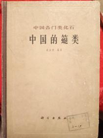 中国各门类化石 (中国的䗴类)
